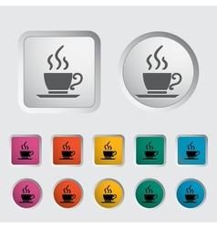 Cafe single icon vector image vector image