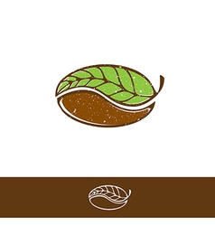 Green Coffee and Tea Logo vector image vector image