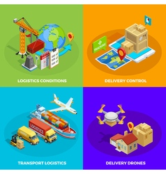 Logistic isometric concept vector