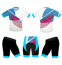 Abstract colors on sports t-shirt vector