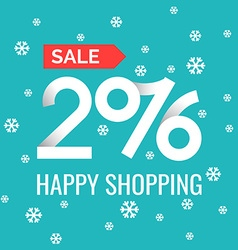Happy shopping 2016 vector