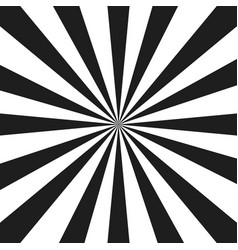 Abstract monochrome rays vector