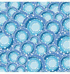 Blue abstracts bubbles background icon vector