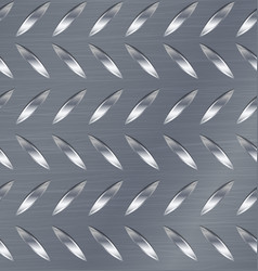 Diamond metal plate seamless pattern vector