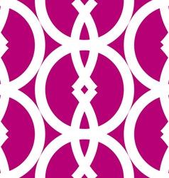 Seamless bold geometrics pattern vector