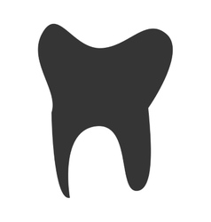 Dental medical healthcare isolated icon vector image