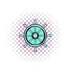 Drachma comics icon vector