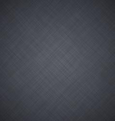 Grey linen texture vector image