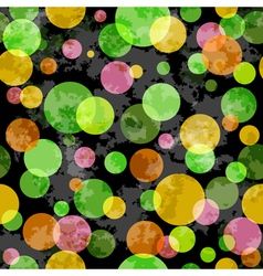 grunge spotty pattern vector image