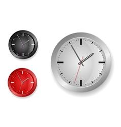 stylish clock designs vector image
