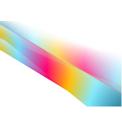 multicolored gradient abstract stripes vector image
