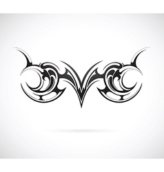 Tribal art tattoo vector