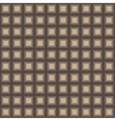 Squares seamless pattern light brown colors vector