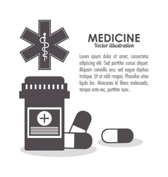 Medicine medical health care icon vector