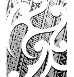 Samoa ethnic ornament vector