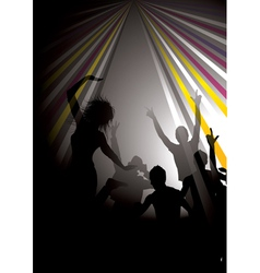musical background vector image