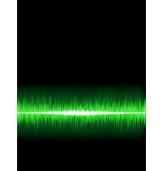 Abstract burn waveform EPS 8 vector image