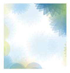 Blue abstract figures background icon vector