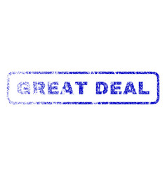 Great deal rubber stamp vector