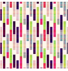 seamless abstract geometric striped pattern vector image vector image