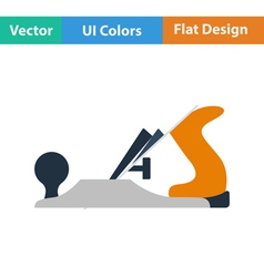 Flat design icon of jack-plane vector image