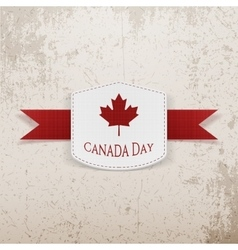 Canada day sale modern graphic tag vector