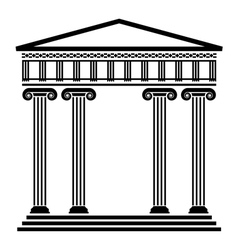ancient architecture vector image
