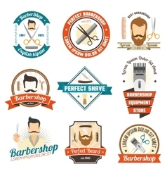 Barber Shop Sign vector image