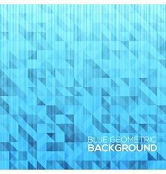 Blue modern geometrical abstract background vector image vector image