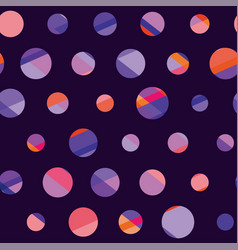 Concept modern polka dot seamless pattern surface vector