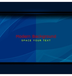 Dark blue modern background vector