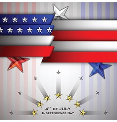 Independence Day Celebrate Background vector image