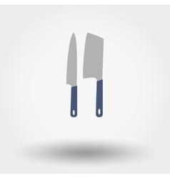 Kitchen Knife Set vector image vector image