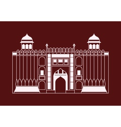 Lahore fort vector