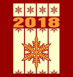 New year and christmas celebration card vector