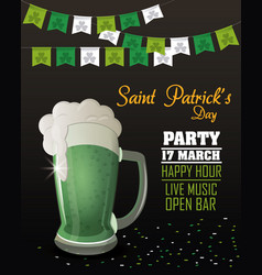 Saint patricks day party vector