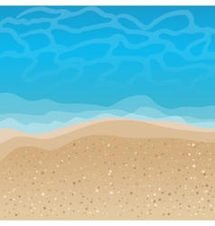 Seaside background vector image