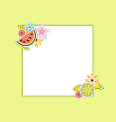 Template for postcardinvitationwedding party vector