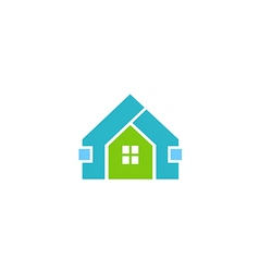 House shape construction logo vector