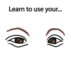 Learn to observe vector image vector image