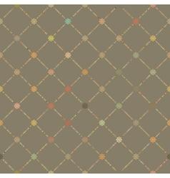 retro dot pattern vector image vector image