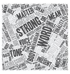 Words matter text background wordcloud concept vector