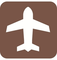 Airplane mode vector image