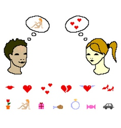 First date vector