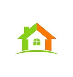 House construction icon abstract logo vector