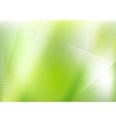 Abstract bright green futuristic background vector