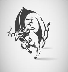 Bull runs vector