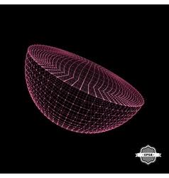 Half-sphere 3d vector