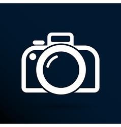 photo camera icon symbol photography vibrant vector image