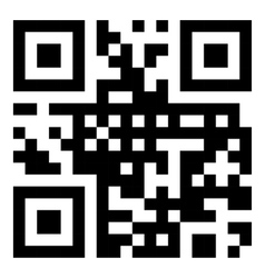 sample qr code vector image